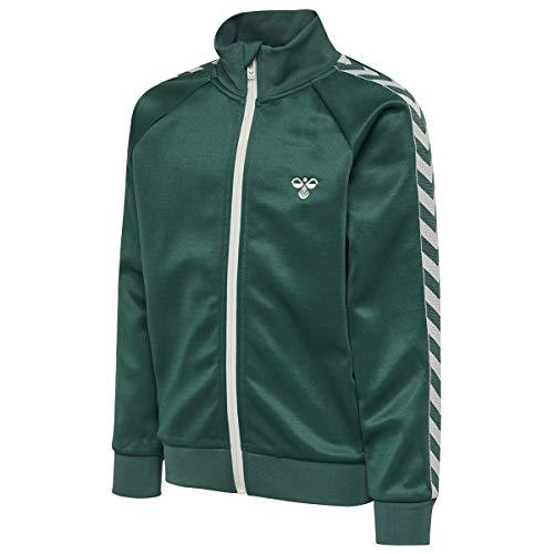 Hummel Kinder Trainingsjacke Kick Zip Jacket 202883 Mallard Green 140