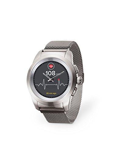 MYKRONOZ Smartwatch zilver
