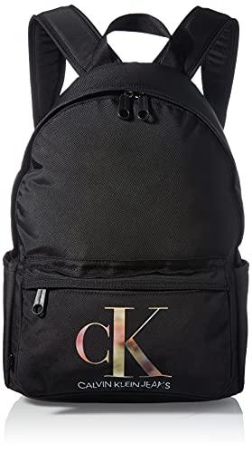 Calvin Klein Sport Essential Campus Bp40, Mochila para Mujer, Black, Medium