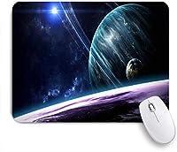 NIESIKKLAマウスパッド 天体写真宇宙のシーンミルキープラネットスターコスモス銀河外科学星雲 ゲーミング オフィス最適 高級感 おしゃれ 防水 耐久性が良い 滑り止めゴム底 ゲーミングなど適用 用ノートブックコンピュータマウスマット