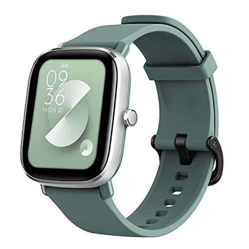 Smartwatch Amazfit GTS 2 Mini, Relógio inteligente Fitness, design fino superleve, autonomia da bateria de 14 dias, mais de 70 modalidades esportivas, medição do nível de SpO2, frequência cardíaca, sono, monitoramento do nível de estresse (Verde)