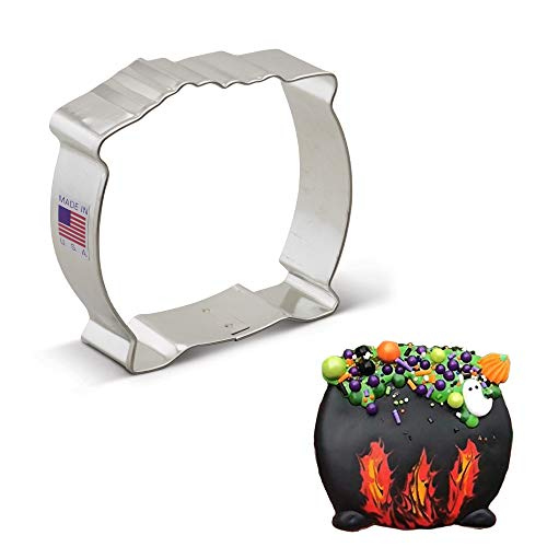 """Ann Clark Cookie Cutters Pot of Gold/Witch's Cauldron Cookie Cutter, 3.25"""""""