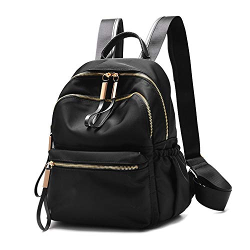 Wraifa Waterproof Oxford Small Backpack Purse for Women School Bag for Girls