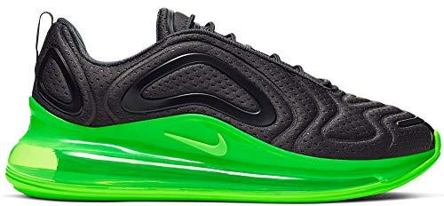 Nike Sneaker Herren Air Max 720 Lifestyle Turnschuhe (44 EU, schwarz-grün)