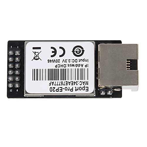 Módulo de red TTL, módulo TTL a Ethernet Puerto de red TTL Admite negociación automática de Ethernet 10 / 100M con memoria flash de 16 MB y SRAM de 32 MB para sistema Linux