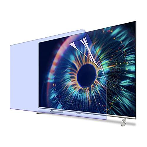 ALX-Dec Película Protectora De Pantalla Antideslumbrante Para Tv De 40 Pulgadas Filtro De Luz Azul Anti Fatiga Ocular Antiarañazos Accesorios De Tv Antimanchas/Transparent / 886x498mm