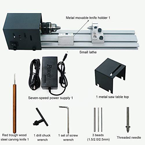 Torno de Perlas pulidoras máquina Mini DIY CNC tramitación para Joyas, Amoladora, procesamiento de Madera, Buda, Perla, Madera pulidora