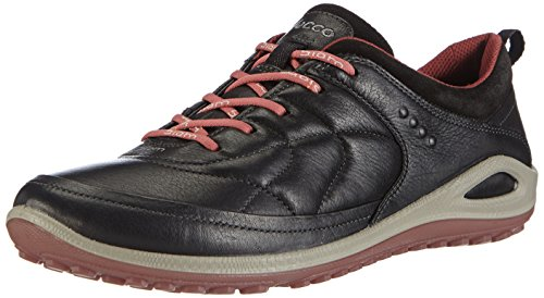 ECCO BIOM GRIP LITE, Damen Outdoor Fitnessschuhe, Schwarz (BLACK/PETAL TRIM), 38 EU (5 Damen UK)
