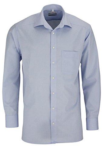 Marvelis Hemd Comfort Fit hellblau, hell-blau, 48