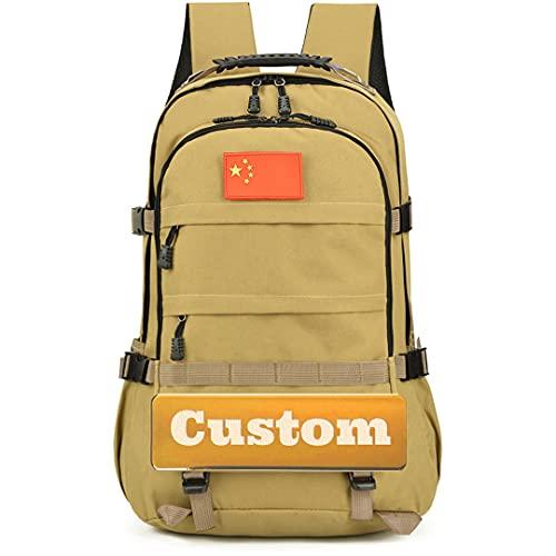 Personalizzato nome personalizzato borsa dimensione della gioventù zaino di nylon delle donne zaino zaino leggero, Kaqise, Taglia unica,