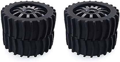 JesseBro76 Neumáticos 4PCS RC Car Snow Sand Paddle para Redcat Team Losi VRX Kyosho 1/8 Buggy Black
