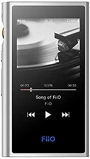 FiiO M9 High Resolution Lossless Music MP3 Player with aptX, aptX HD, LDAC HiFi Bluetooth, USB Audio/DAC,DSD128 Support and WiFi/Air Play Full Touch Screen (Silver)