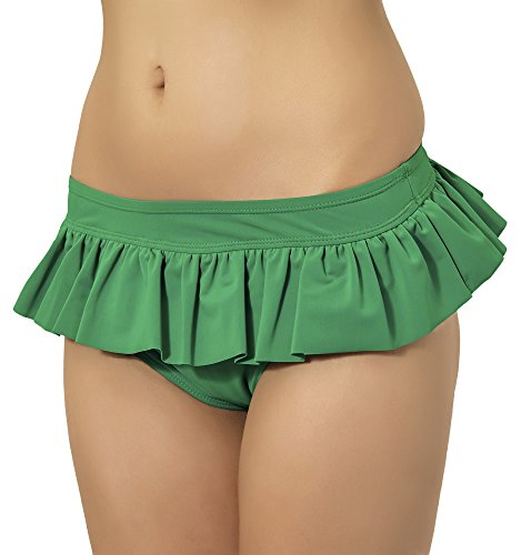 Merry Style Costume A Gonnellino Donna S1SH31 (Verde (70028), EU 38 (IT 44))
