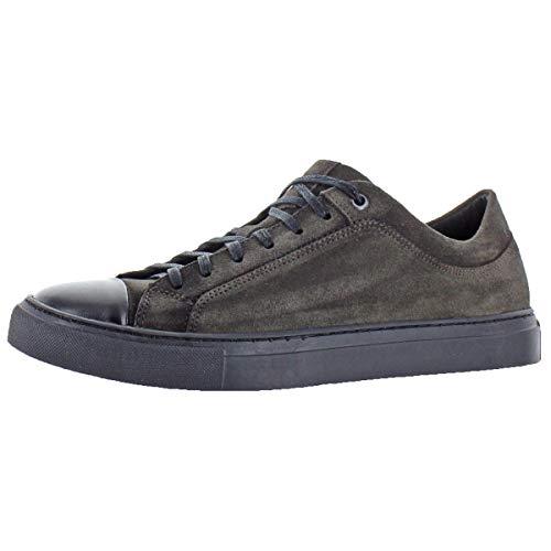 Donald J. Pliner Mens Berkeley Suede Fashion Sneakers Gray 8.5 Medium (D)