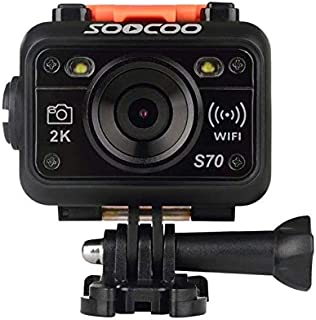 SOOCOO Action Cameras 1080P Resolution, Unavailable Optical Zoom and 1.5 Inch Screen Size Camcorder - S70