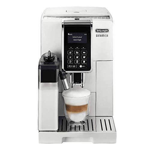 Delonghi ECAM 353.75.W Dinamica Kaffeevollautomat weiß 1450 Watt 1,8L Tank