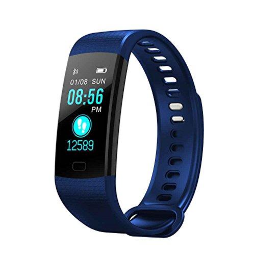 Luckiests Y5 Smart-Armband 0.96' TFT Display Herzfrequenzüberwachung...