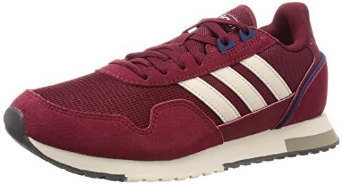 Adidas 8K 2020, Zapatillas para Correr Hombre, Collegiate Burgundy/Alumina/Chalk White, 45 1/3 EU