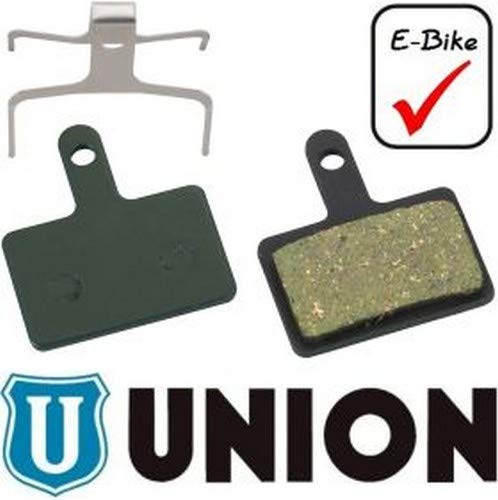 Union Dbp-10E für Shimano E Bike Disc-Pads, Mehrfarbig, One Size