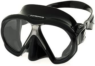 Atomic Aquatics Subframe Scuba Snorkeling Dive Mask BK BK product image