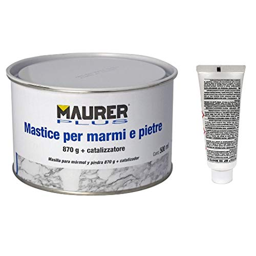 MAURER 14075010 Masilla para Marmol 500 ml. con endureced