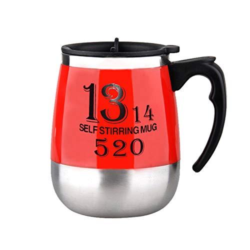 Wollaston Lazy Automatic Mixing Cup, taza de café giratoria electromagnética de acero inoxidable, taza de café giratoria electromagnética, taza de regalo