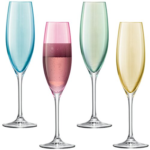 Copas Champan Cristal Colores Marca LSA International