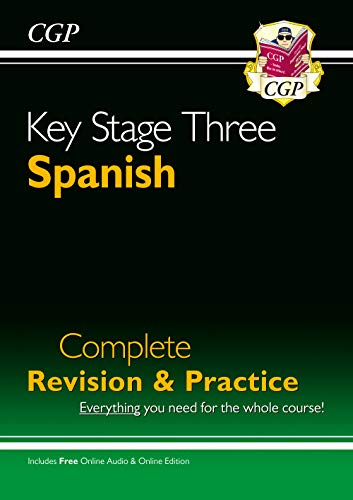 KS3 Spanish Complete Revision & Practice with online downloadable code (CGP KS3 Languages)