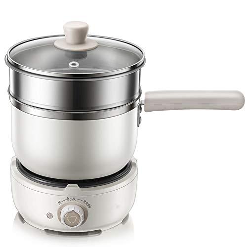 Elektrische snelkookpan, 1,2 L van multifunctionele draagbare fornuizen, mini fornuis pan, anti-aanbaklaag, lichtgewicht handvat (220V)