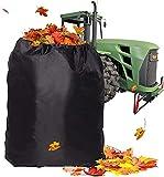 MarHermoso Bolsa de hojas para tractor de césped, reutilizable,...