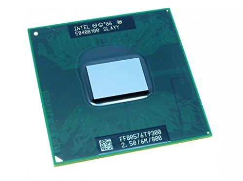 Intel Core 2 Duo T9300 slaqg slayy 2,5 GHz 6 MB Mobile CPU Prozessor Sockel P 478-pin