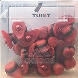 adidas F50 Tunit HG - Juego de tacos, color rojo