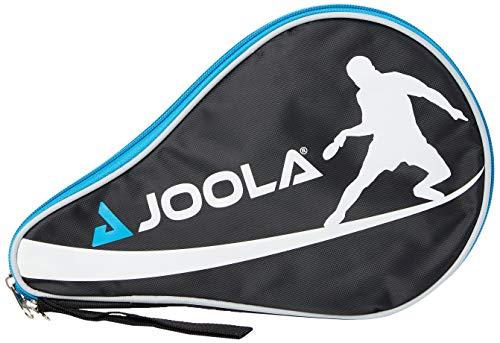 JOOLA Tischtennishülle TT-Hülle Pocket Passend für 1 Tischtennisschläger und 3 Tischtennisbälle, Blue, One Size