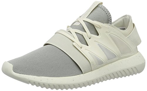 adidas Damen Tubular Viral Sneaker, Weiß (Chalk White/Chalk White/Core White), 37 1/3 EU