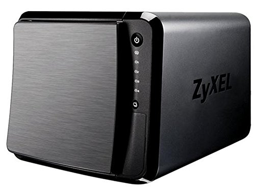 ZyXEL [NAS540] 8TB Personal Cloud Storage [4-Bay] for Home with iOS & AndroidRemote Access and Media Streaming (Built-in 4X Seagate 2TB Enterprise NAS HDD) - Retail