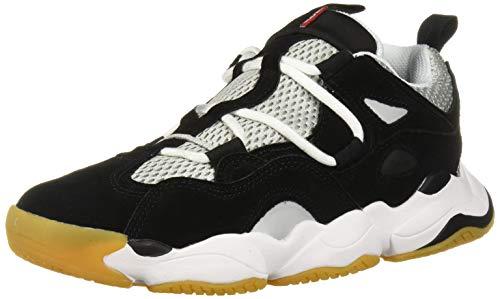 Globe Men's Option Evo Skate Shoe, Black/Grey/White, 8.5 Medium US