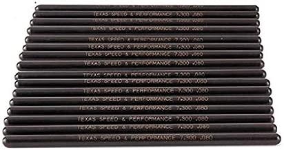 Texas Speed TSP 7.400 Pushrods Fits 4.8 5.3 5.7 6.0 LS2 LS3 LS6 L99 LS4 LS9 LSA LQ4 LQ9 L76 L92