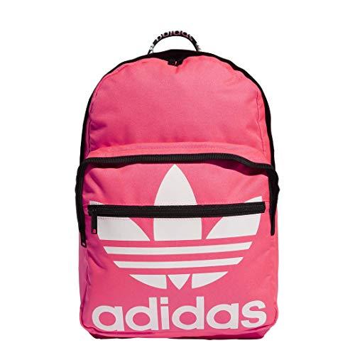 adidas Originals Mochila unisex 977701 Trefoil de bolsillo, Unisex, 977701, Señal rosa/blanco, Talla única