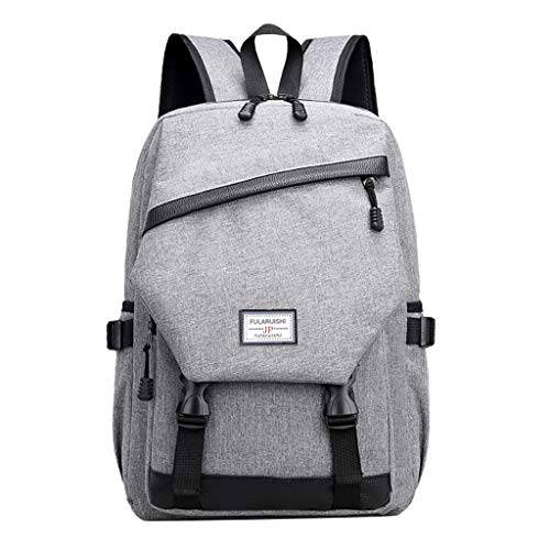 Tigivemen Men Business Laptop Casual Backpack, Student Bag Outdoor Travel School Package With USB,ON SALE!