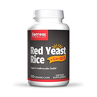 Jarrow Red Yeast Rice + Co-Q10 (120 Capsules) by Jarrow FORMULAS