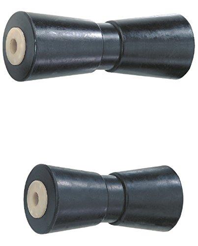 V-Kielroller - Rodillo de goma (250 mm)