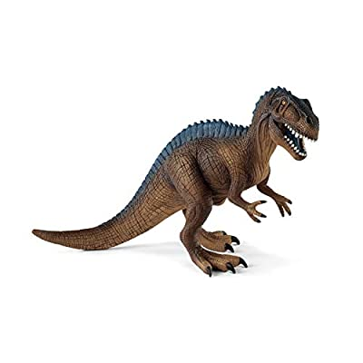Schleich Dinosaurs Acrocanthosaurus Educational Figurine for Kids Ages 4-10