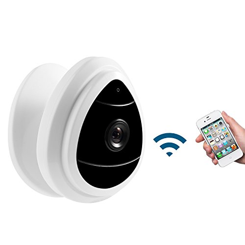 NexGadget Security Mini IP Camera, Baby Monitor Home Surveillance System, Wireless Security Camera (1pack)