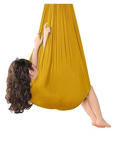 SHUHANG Sensorial Interior Aéreo Yoga Terapia Columpio Abrazo de Hamaca Elástica Antigravedad para Niños o Adultos (Color : N, Size : 700x280cm)