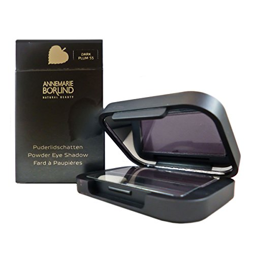 Annemarie Börlind Powder Eye Shadow 55 dark plum, 1er Pack (1 x 2 ml)