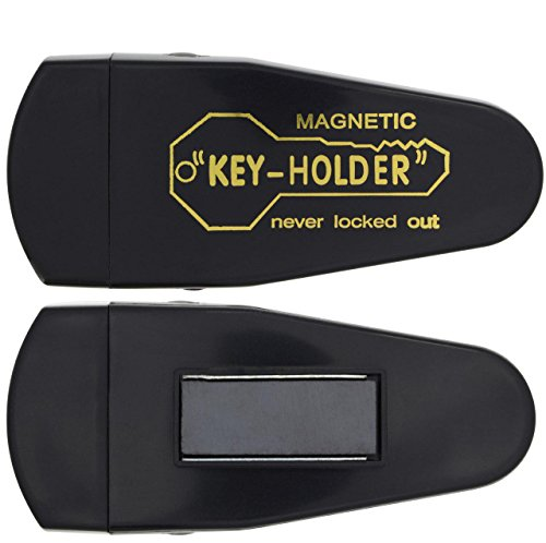 2 Large Ram-Pro Magnetic Hide-A-Key Holder for Over-Sized Keys - Extra-Strong Magnet