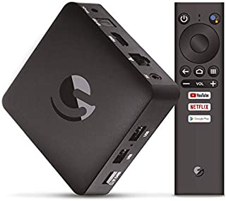 Engel EN1015K, Android TV Box 4K UHD, Asistente de Google Ch