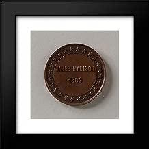 American Decorative Arts - 20x20 Framed Museum Art Print- Token of James Madison