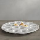 Leila Deviled Egg Platter | Pottery Barn