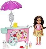 Barbie Club Chelsea Ice Cream Cart Doll & Playset